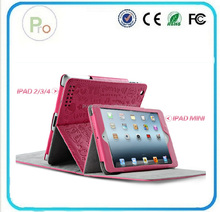 High quality cartoon fearie case cover back cover housing replacement for ipad 2 PRO-IP01540