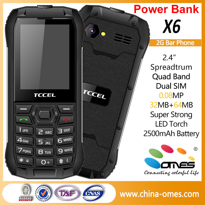 best selling X6 2.4inch outdoor factory unlocked cell phones