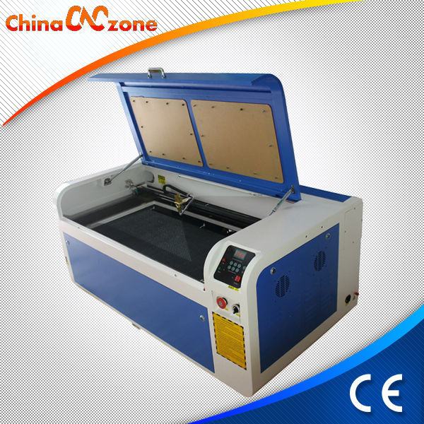 Wood Pattern 1040 80w Low Cost Plastic Laser Cutting Machine