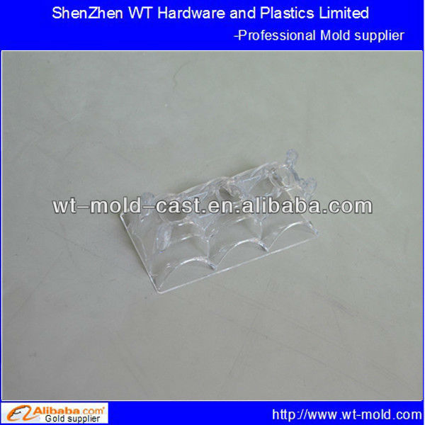 export PMMA(acrylic) mirror polished transparent LED light guide plate plastic injection mold