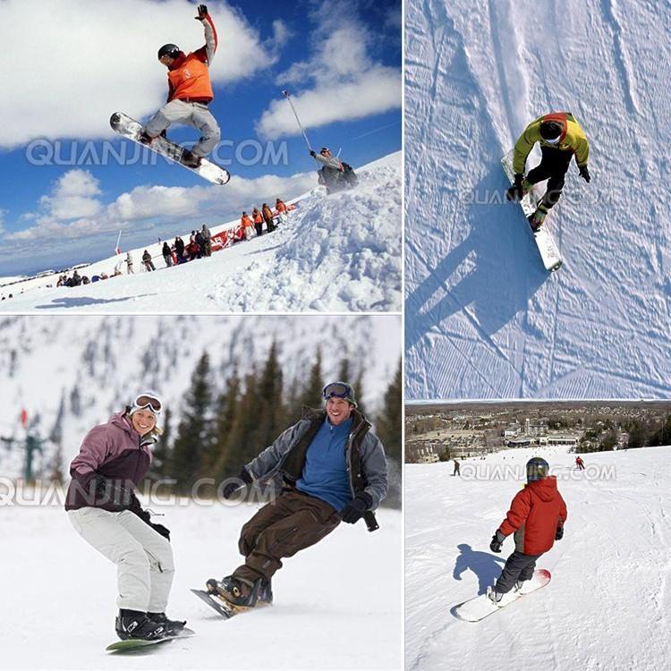 Ningbo snowskate convés Ski Snowboard neve Trenó de neve sno boogie luge tubulação para adultos e adolescentes