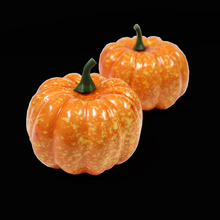 Factory Direct Artificial Fall Harvest plastic Mini Pumpkins