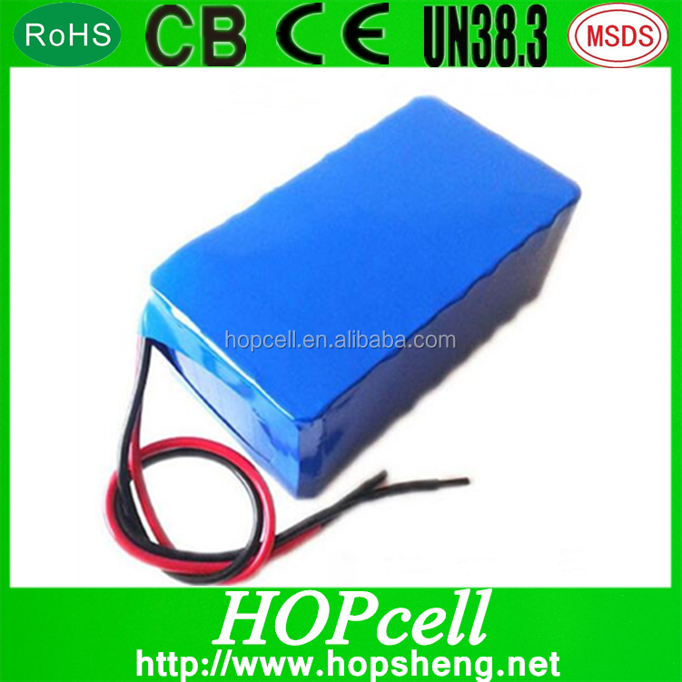 AAAA Quality Original HOPcell 11.1v 12v 8.8ah 10ah 20ah 30ah Li ion Battery Pack With Outlet and Aluminum Case