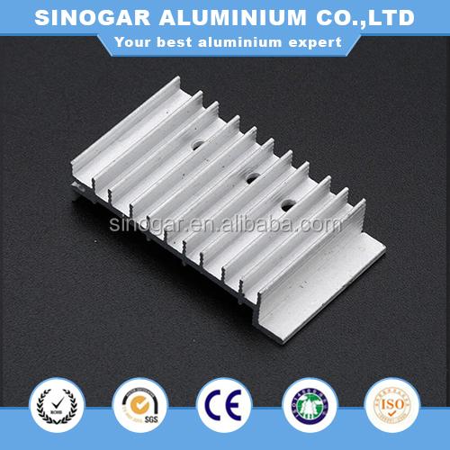 Aluminium alloy cooling fins downlight street high bay light led heat sink, led heatsink, led street light