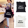 alibaba fashion cotton shopping bags/cotton hands bags women/new college bags handbag china supplier