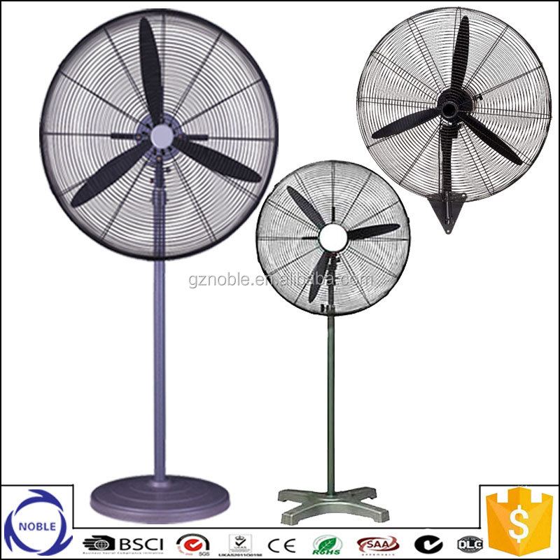 "20'' 26'' 30"" powerful copper motor metal material strong wind exhaust industrial fan"