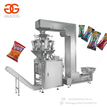 Automatic Vertical Sealing Snacks Food Weigh Packaging Machinery Dried Fruit Packing Machine