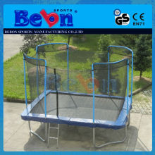Top Sale Safety Children Interesting Gyms second hand square trampoline