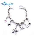 Promotional Bracelets With Pendant Metal Hand Chain Bracelet