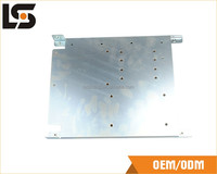 Sheet Metal Fabrication Q235 Galvanized Household Appliances End Cap Stamping Parts