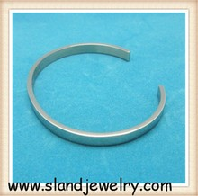Fashion 316l jewelry manufacture online wholesale handcrafted engraved stainless steel blank cuff bracelets,high shinny finish