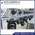 light weight spigot Truss trade show booth display