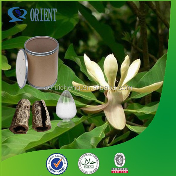 GMP Standard Factory Supply Magnoliae Officinalis Bark Extract