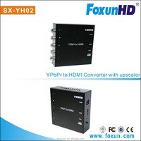 Foxun/OEM Audio/Video Adapter YPbPr to HDMI Converter R/L Signal to HDMI