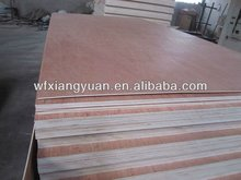 12mm Multiplex Poplar Core Ocume faced plywood