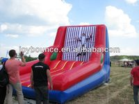 stick wall inflatable game ,2014 hot inflatable sports walls