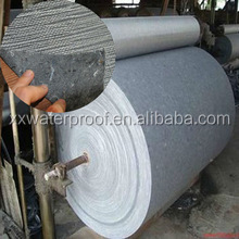 Polyester cotton fiberglass compound mat reinforcement for SBS APP asphalt membrane