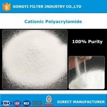 High quality cationic polymers for wastewater