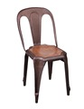 French Antique Vintage Cafe and Restaurant Chair DS-M81-2