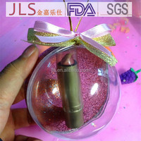 cosmetic plastic container Plastic Ball 9cm Packing Box