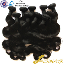 Full Cuticle Virgin Hair in StocK Peruvian Vigin Hair