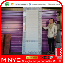 China top brand Plastic Steel White Clasp Single casement Door