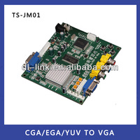 Factory direct supply! HD9800 RGB TO VGA/CGA TO VGA Converter Board-Video Board for arcade game machine