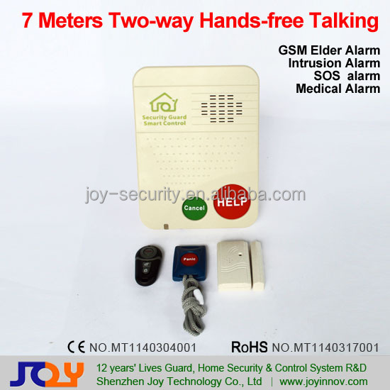 GSM Panic Button Kids/Elderly Emergency Phone,Elderly Personal Security