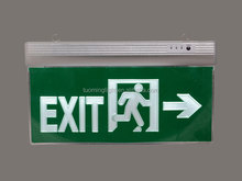 wall mounted recharge fire emergency led exit sign lamp