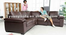 Latest design living room furniture, big corner sofa