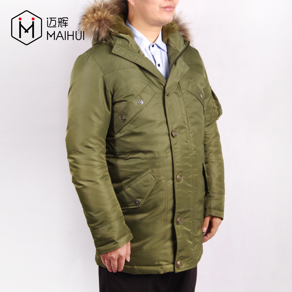 Clothes Men Padded Jacket Winter Coat Quilted Chinese Men's Jacket