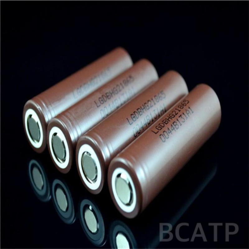 Rechargeable vaporshark battery li ion 3.7v LGHG2 18650 lithium battery 18650 lghg2 vaporshark