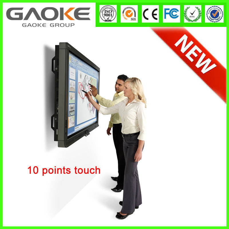 "China OEM 10 POINT IR touch 65"" interactive flat panel/Touch screen monitor/LED TOUCH MONITOR with factory price"