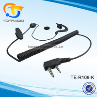 VHF UHF Transceiver Radios Ear Hang Earpiece For Weierwei VEV-V8 PLUS VEV-V3 VEV-V2 VEV-V1100 VEV-V1000 VHF UHF Transceiver