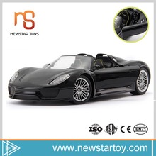 1:14 4ch multifunctional remote control metal model car kits with music and light