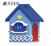 2016 princess outdoor plastic play houses for kids