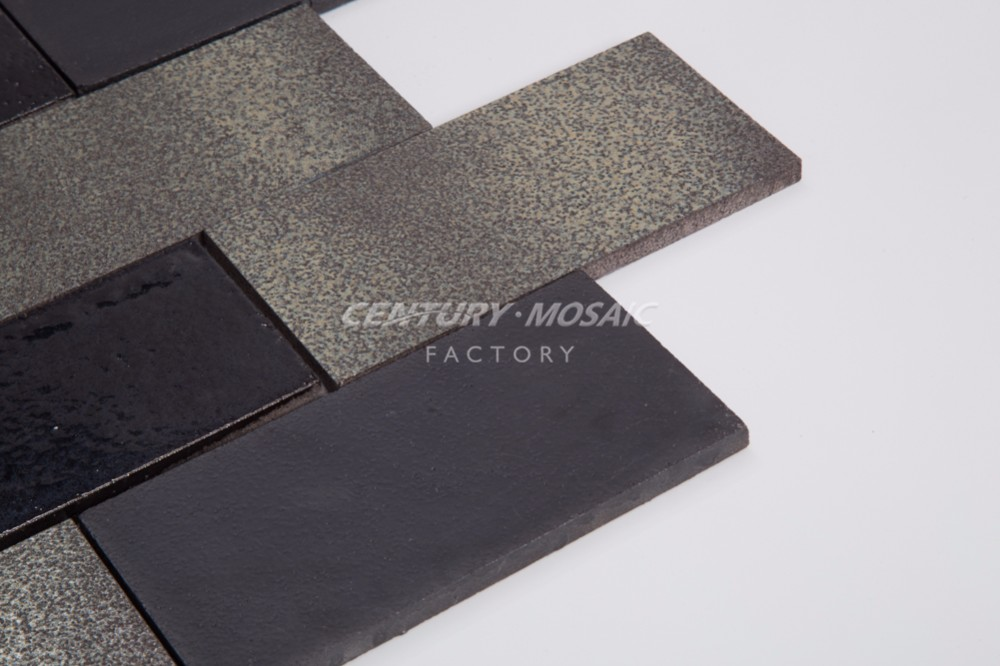 New High End Lava Stone Tile Brick Mosaic For Bathroom