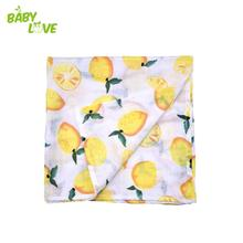 Free Shipping 70%Bamboo With 30%Cotton Swaddle Blanket