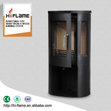 6.5KW stove HiFlame factory direct sale solid fuel high quality wood burning stove Y007