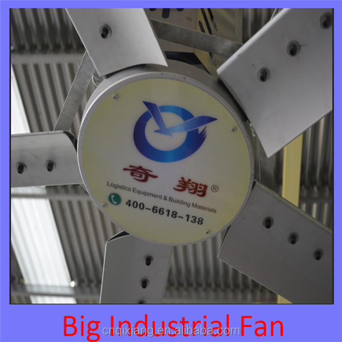 20ft aluminum material HVLS vietnam giant ceiling fan with high rpm