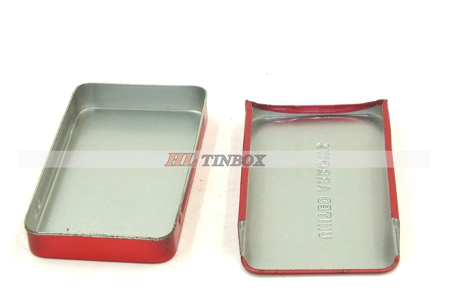 Hot selling mint tin box with sliding lid with low price
