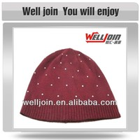 2013 Women's Popular knitting Beanie/ Beanie with Sequins