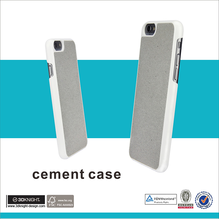 Hard PC phone case for iphone 7 cement case