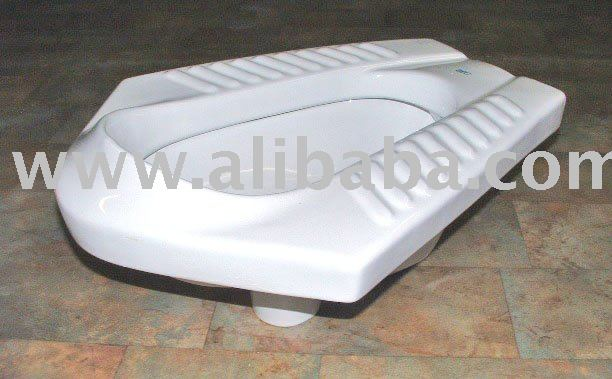 "Natura- Natural Position Toilet (squat toilet): 16"", bowl only"