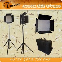 Professional studio photography flat panel led video light