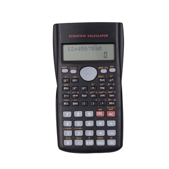 Wholesale students gifts 240 functions scientific calculator with 2 line display