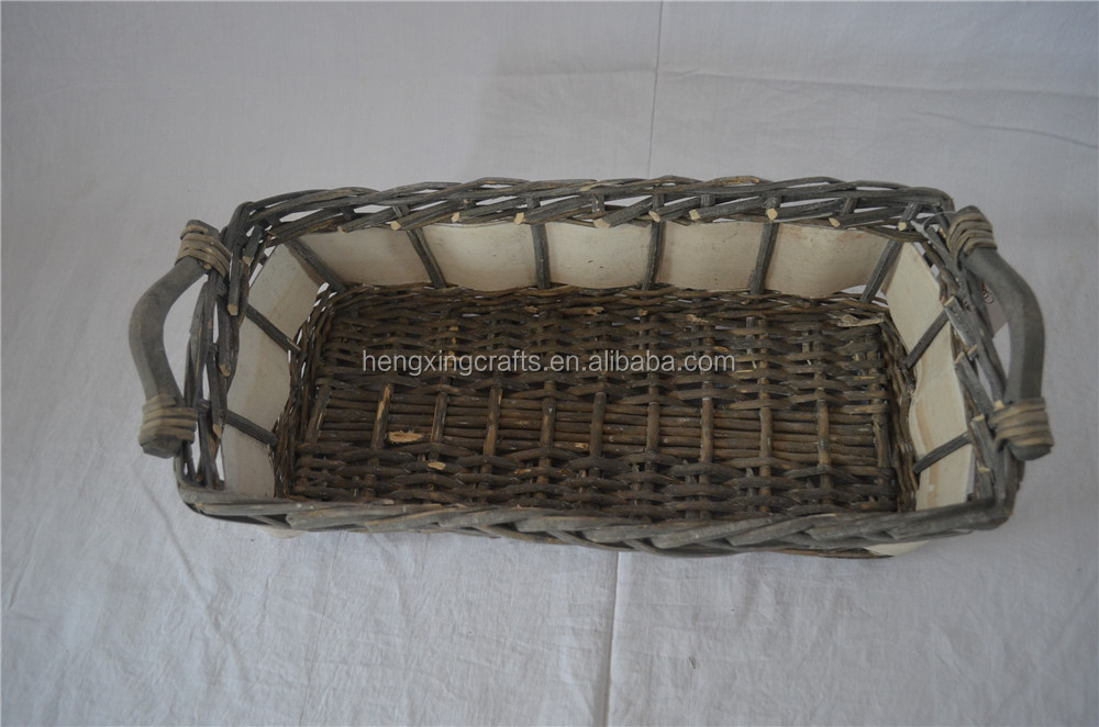 Hot-sale Rectangle storage tableware basket