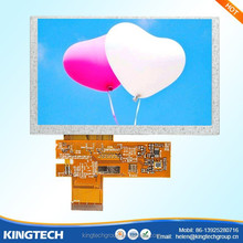 5.0 inch refurbished touch screen monitor 800*480