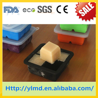 2015 Hot sell wholesale LFGB FDA standard food grade ice cube tray with lid/ice cube tray/silicone ice tray