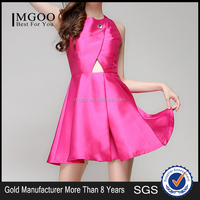 MGOO Hot Sale Frock Design For Girl Going Out Women Dress Purple Keyhole A Line Party Dresses K0722171